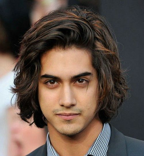 Pin By Sunpreet Shergill On Hair Long Hair Styles Men Wavy Hair Men Cool Hairstyles For Men