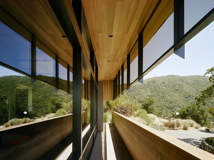 Los Gatos Home by Mark English Architects Outside living