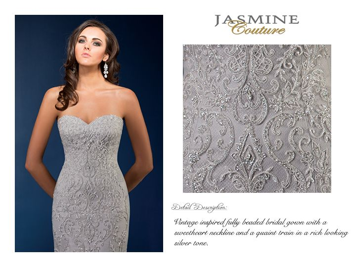 T162061 / Wedding Dresses / Jasmine Couture Collection / Available ...