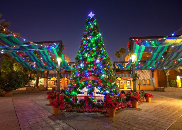 Christmas Town at Bush Gardens in Tampa Bay Trips I want to do