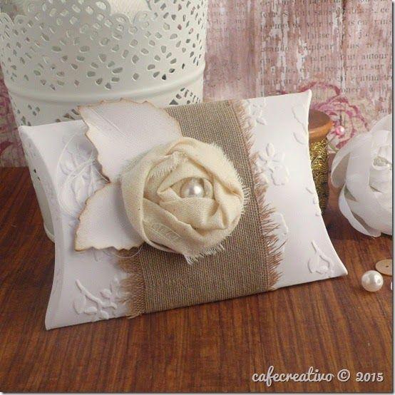 Matrimonio Box Bed : Cafecreativo pillow box shabby chic scatolina