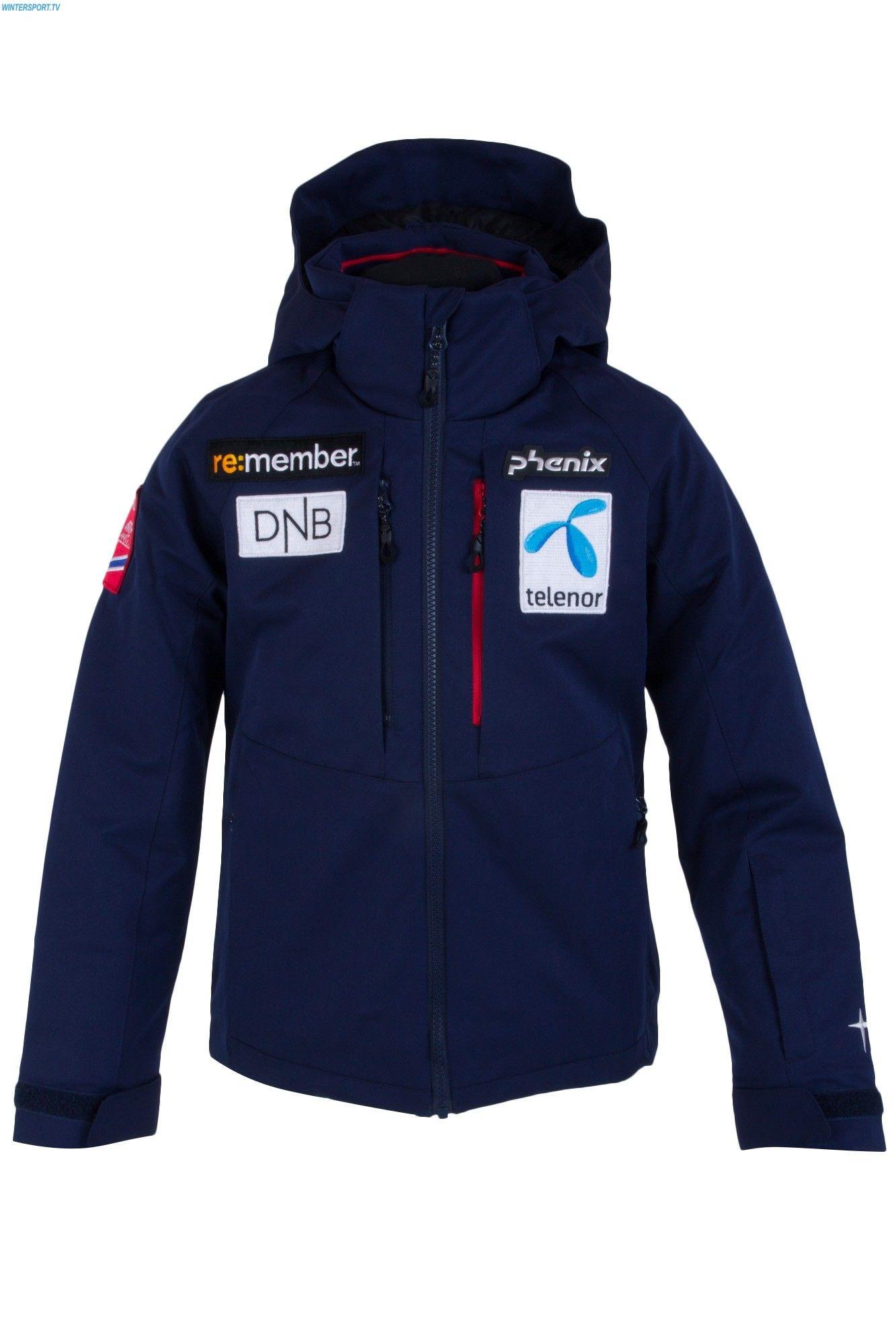 Phenix Kids Norway Alpine Team Jacket Navy Phenix Ski Wear