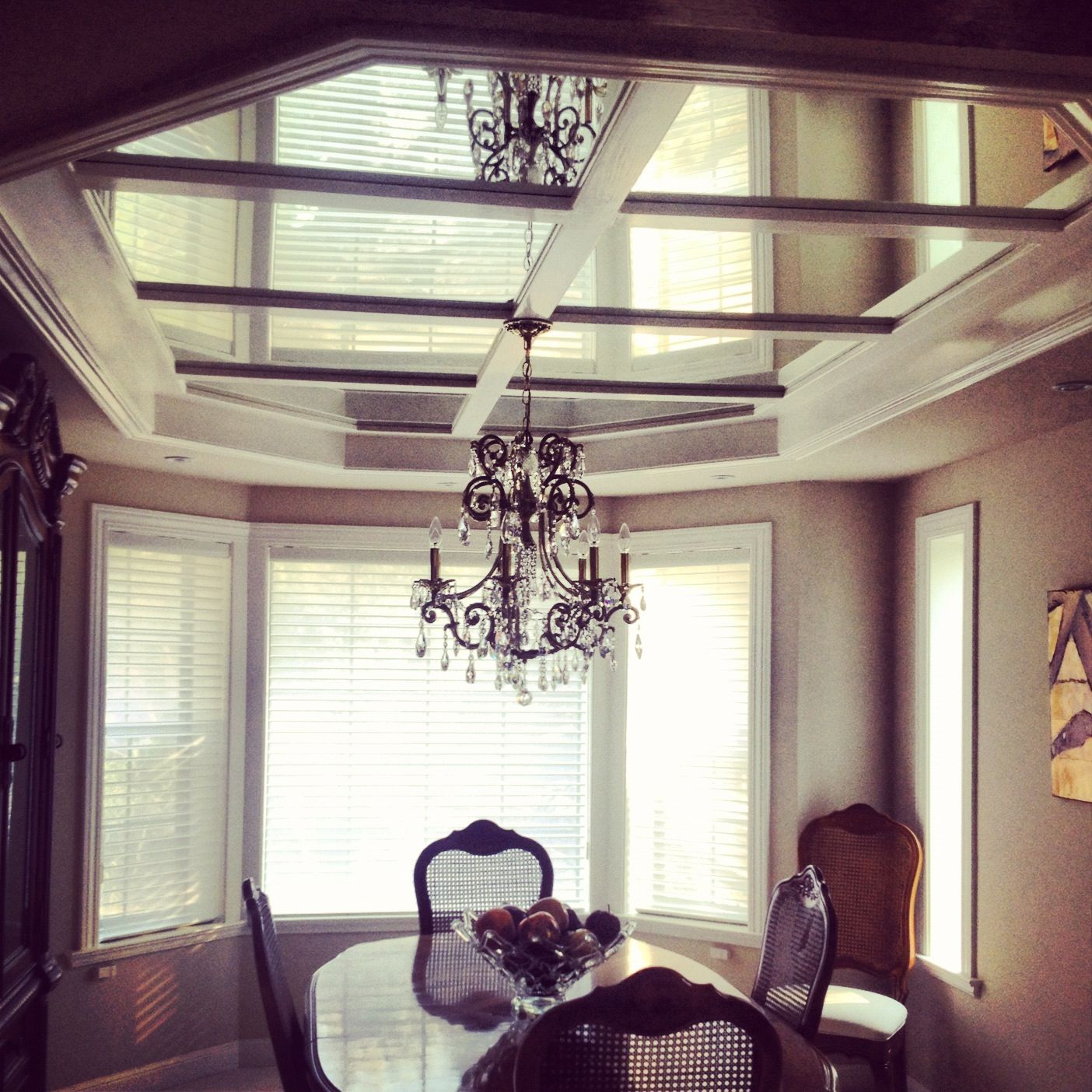 Mirror Ceiling dining room | House About That - Other ...