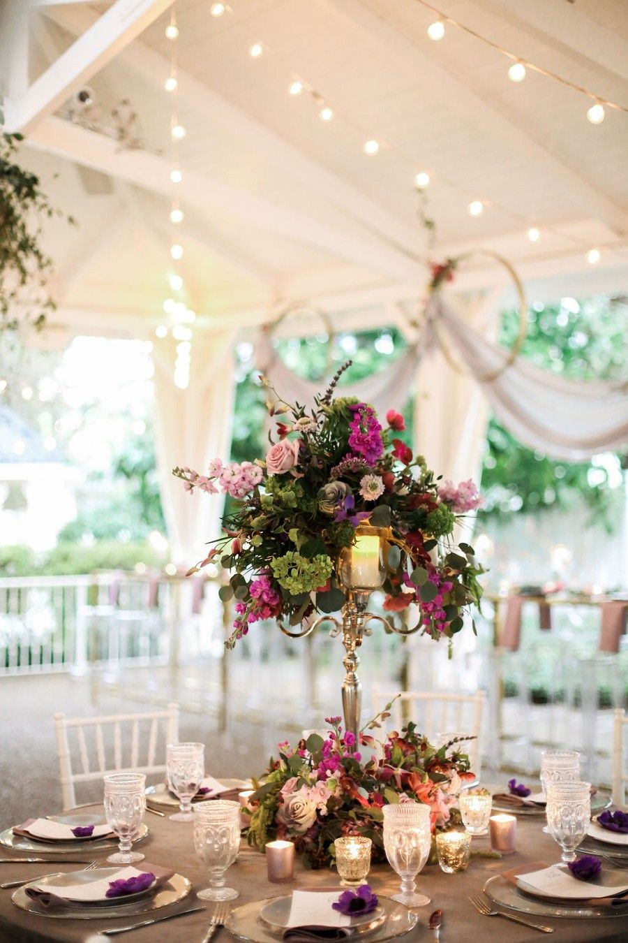 Pretty Plum Shades For A Whimsical Modern Wedding Wedding Event