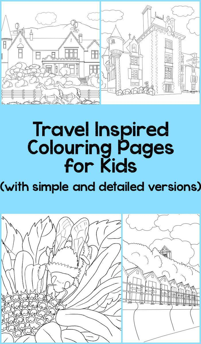 Beautiful Scenery Colouring Pages | Things for the Little One ...