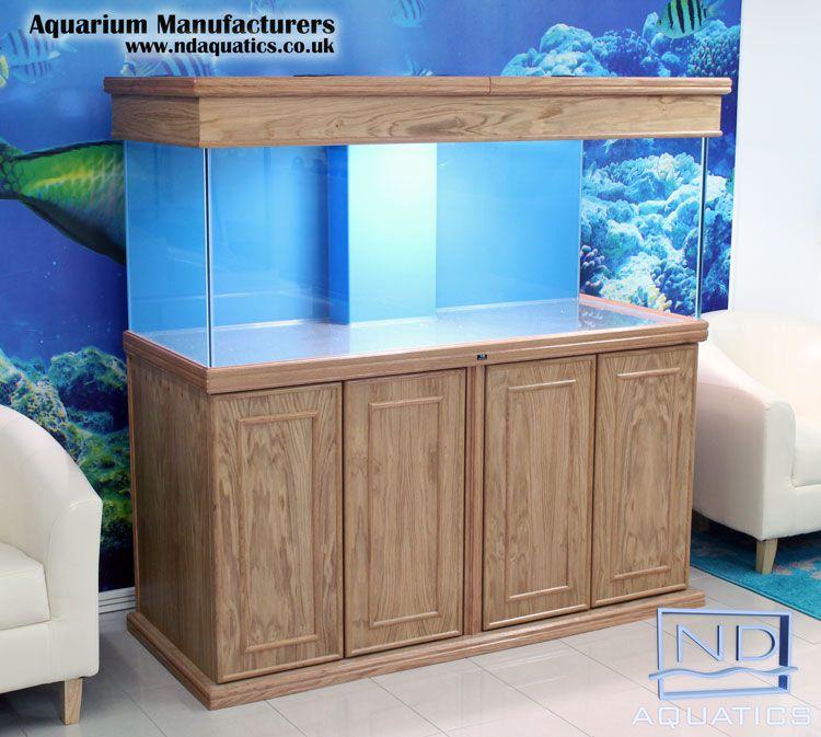 60x24x24 marine fish tank cabinet oak mdf veneer for Fish tank cabinets