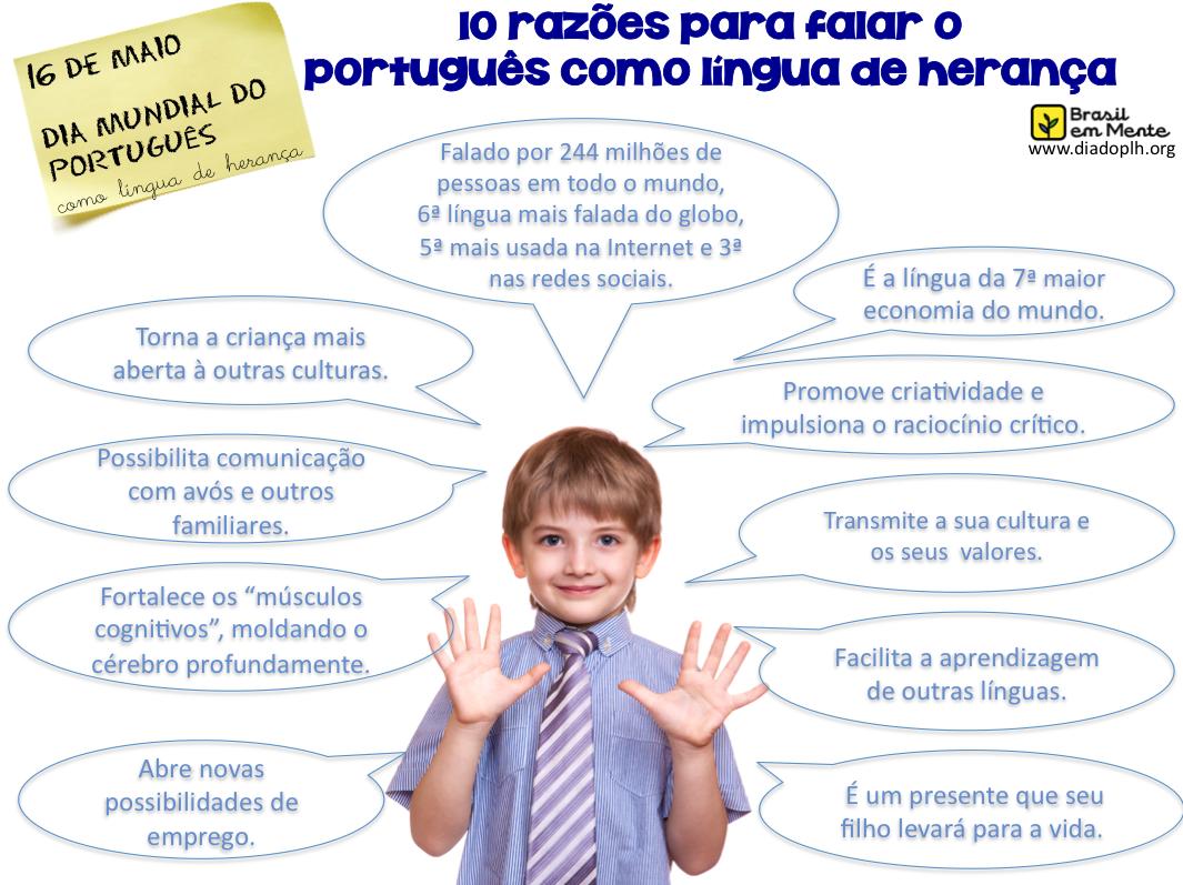 10 Razoes Para Falar O Portugues Como Lingua De Heranca