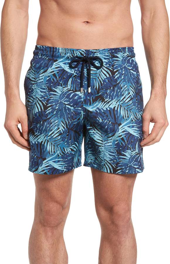 2a5e01ef43 Vilebrequin Mahina Madrague Print Packable Swim Trunks | Products ...