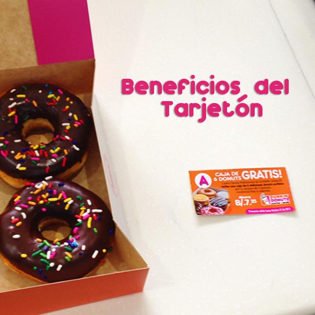 Obten tu tarjeton por B/.11.99 y disfrutas de ofertas Dunkin' Donuts y Cinépolis.#Tarjetón #Cinépolis #DunkinPanamá