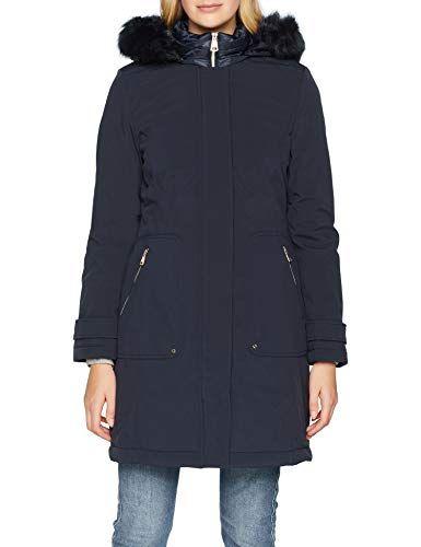 Nicht Women's Coat Weber Blue Mantel Wolle Gerry Edition txsrdhQCB