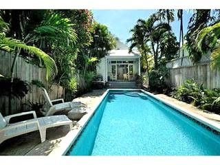 garden house key west. NEW - Garden House-Sleeps 8, LARGE HEATED PRIVATE POOL! Key West House