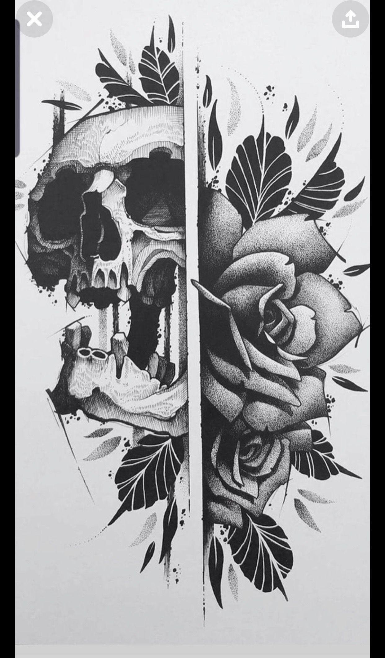 Pin By Sara Lucas On Pencil Drawing Skulls Drawing Skull Rose Tattoos Skull Tattoo Design