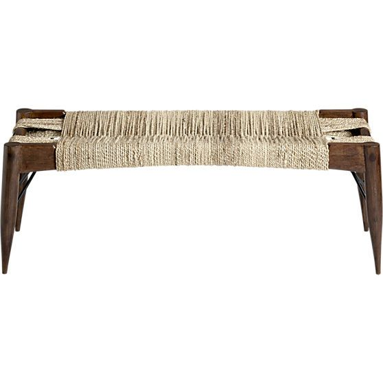 Wrap Bench In View All Furniture Cb2 Bench Furniture