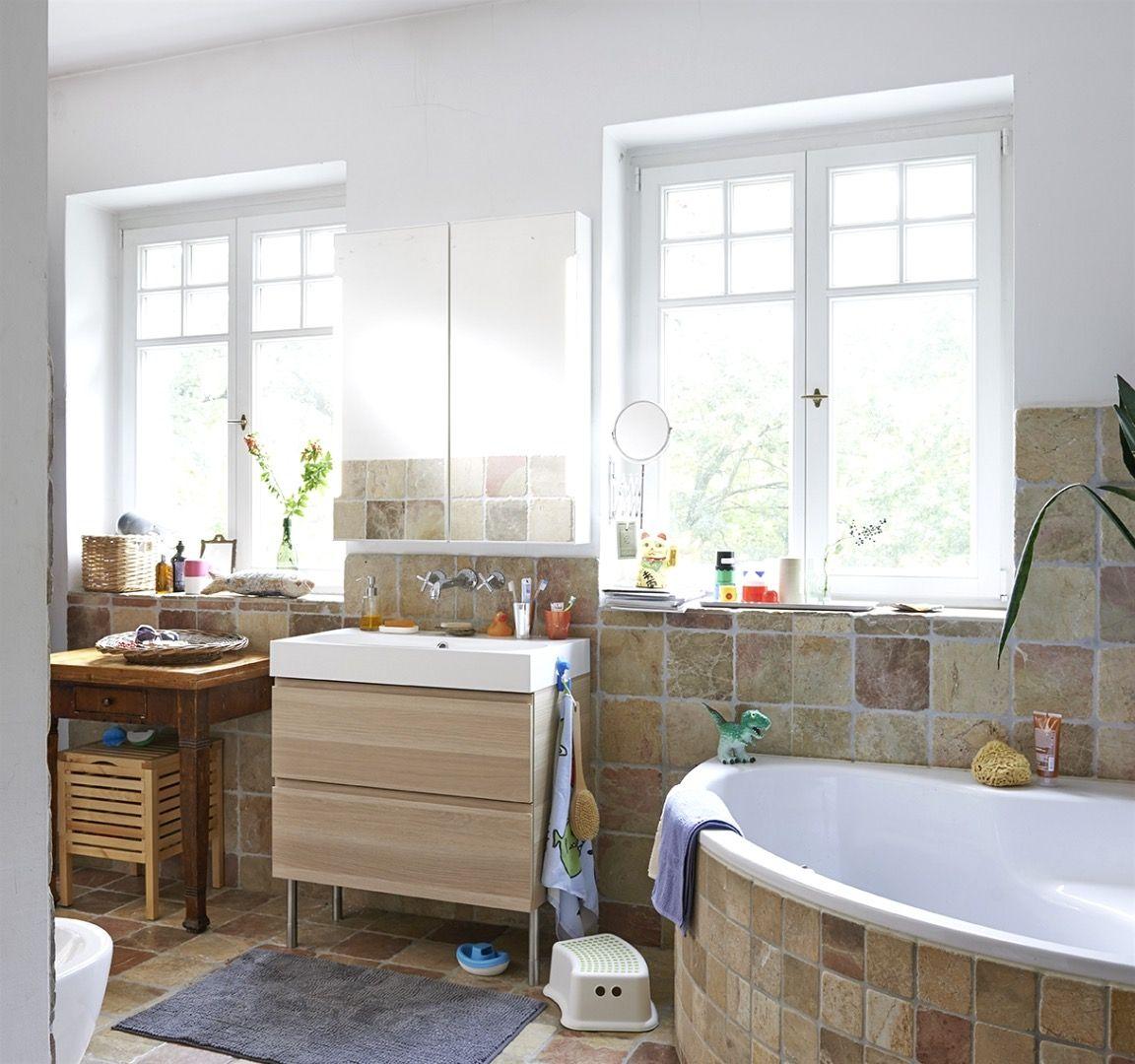 Maisonette-design-bilder ideen badezimmer ikea  dream house  pinterest  house