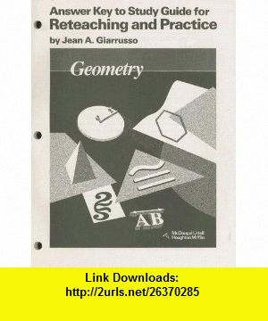 Geometry answer key to study guide 9780395470756 ray c jurgensen geometry answer key to study guide 9780395470756 ray c jurgensen jean a fandeluxe