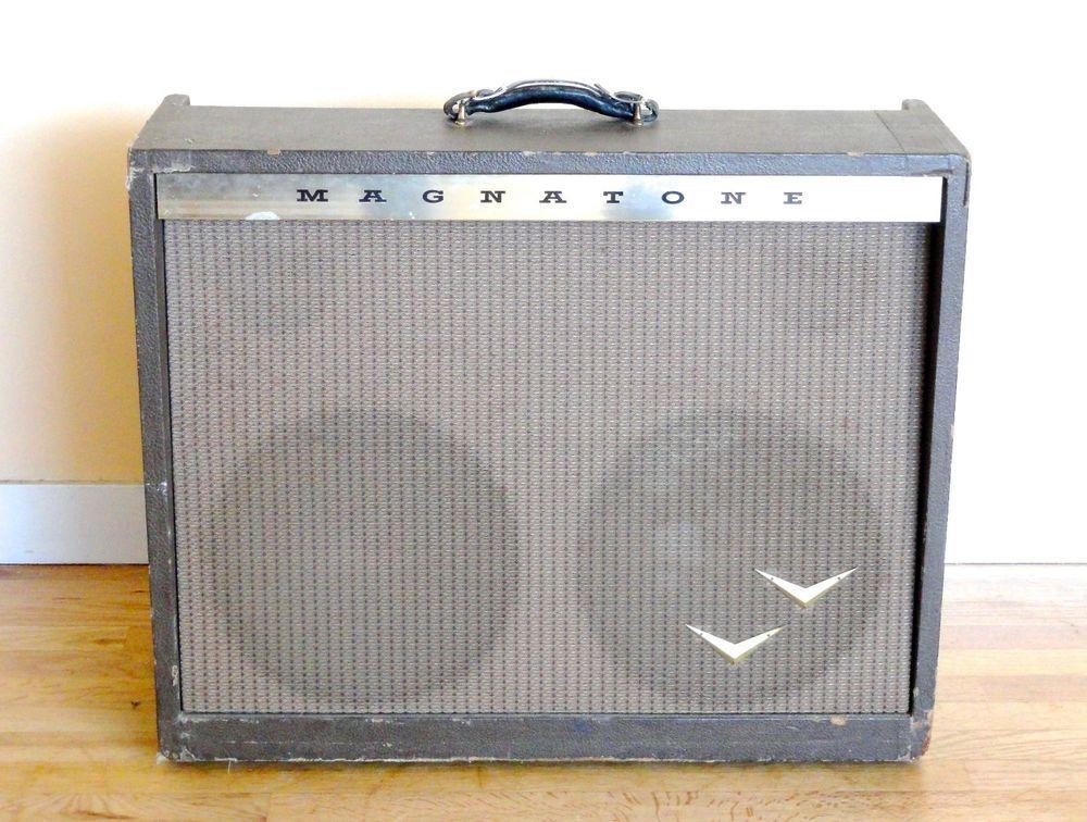 1959 #Magnatone 280 Vintage 2x12 Tube Amplifier w/ Stereo Vibrato Magna Pre-Estey #BuddyHolly