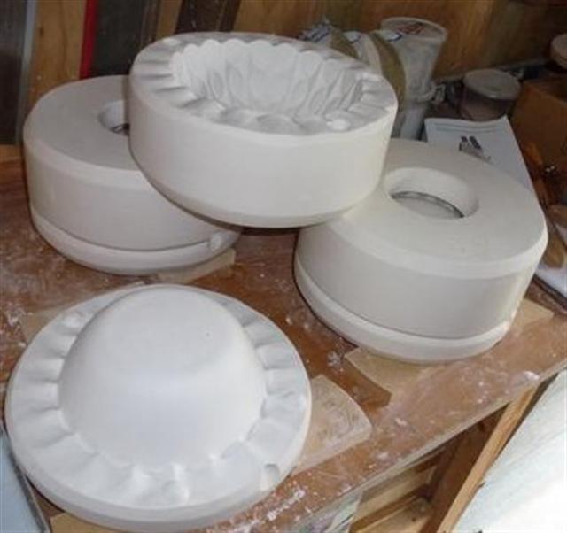 plaster molds for slip casting | Pottery Slip Casting | Plaster