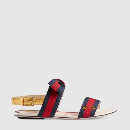1633344d1 Gucci Grosgrain Web sandal