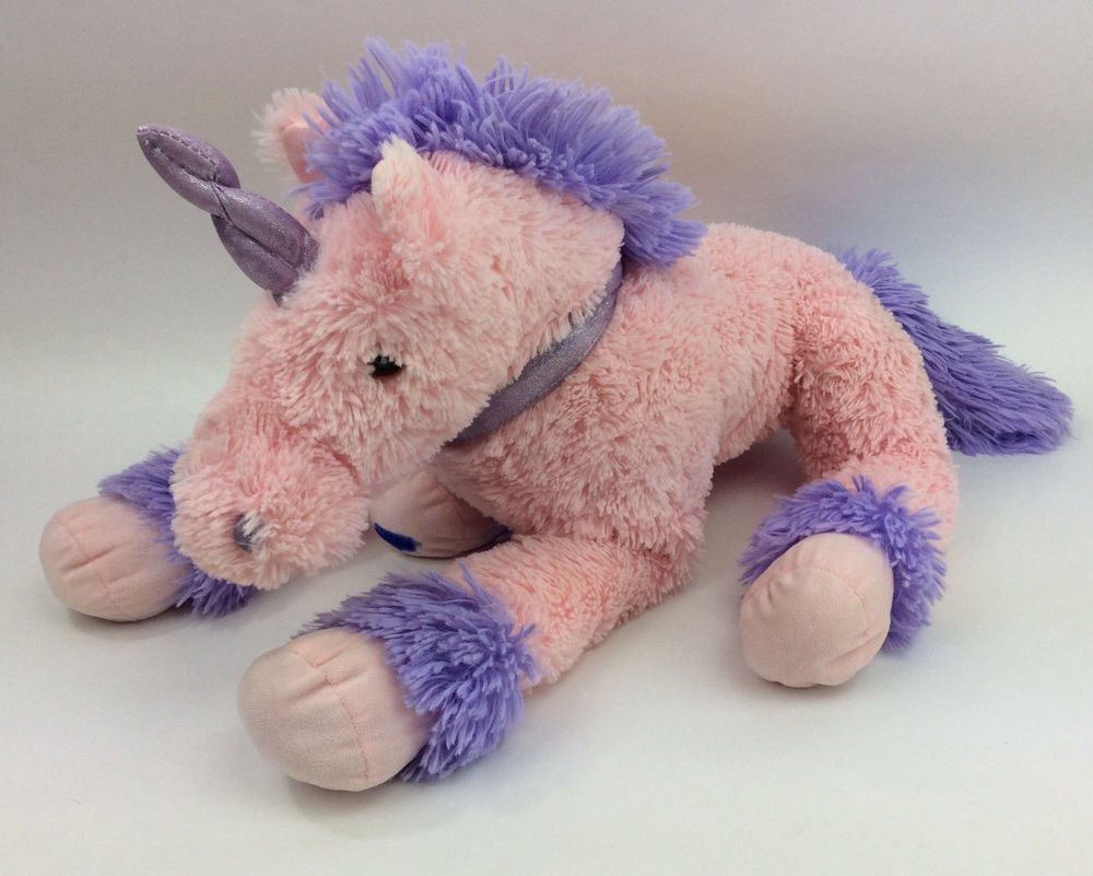 JUMBO Unicorn Pink Purple Plush Best Made Toys Stuffed