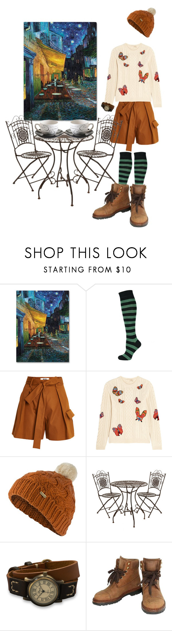 """""""Untitled #49"""" by numomo ❤ liked on Polyvore featuring MSGM, Valentino, Barbour, BillyTheTree, Chanel and Price & Kensington"""