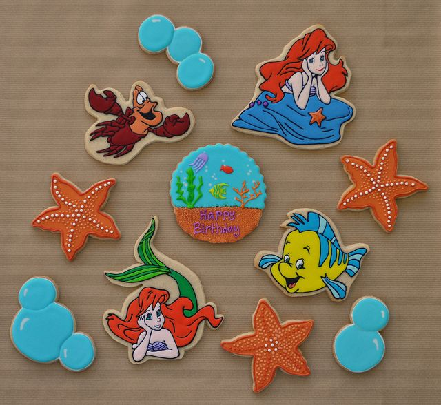 Little Mermaid Cookies | Flickr - Photo Sharing!