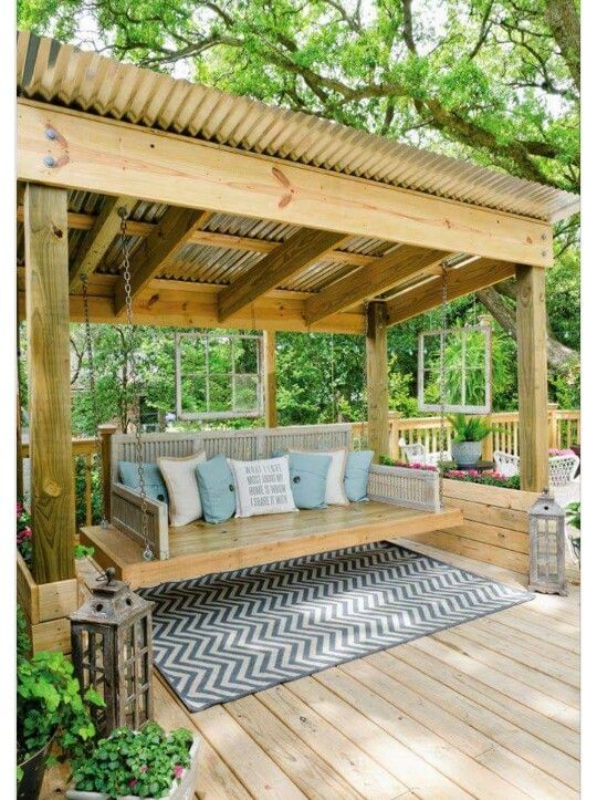 i like this fairly like this coated swing i can see steve and i having espresso within the mornin - Deck Vs Patio