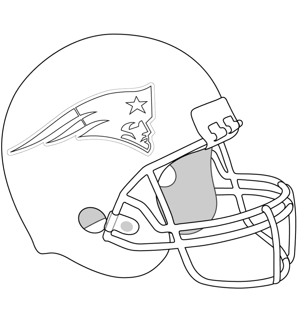 11 Free Printable New England Patriots Coloring Pages New England Patriots Helmet Football Coloring Pages New England Patriots Colors