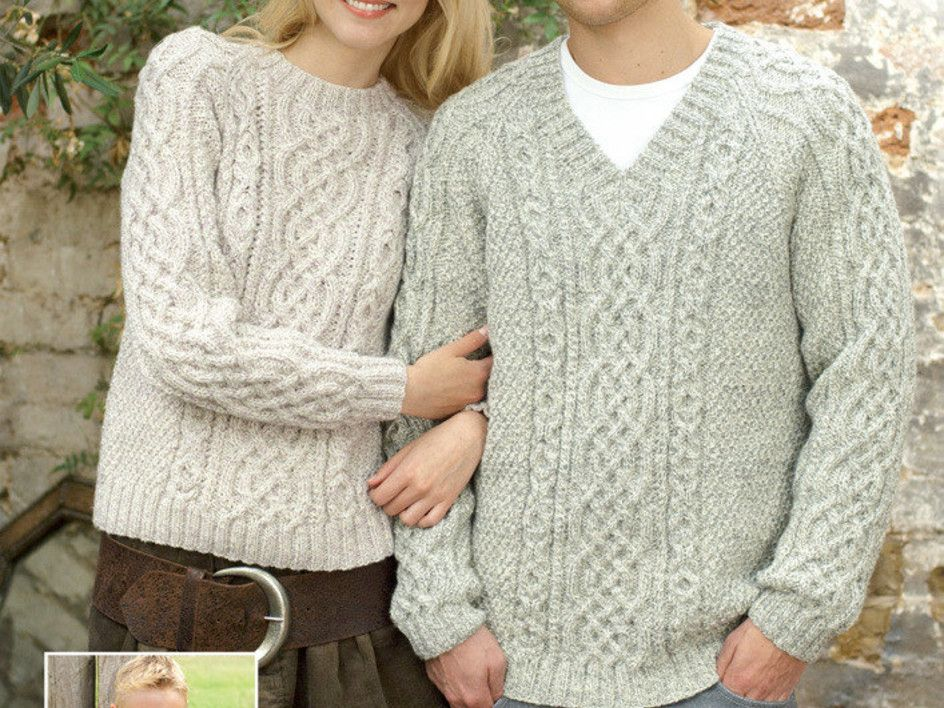 Top 5 free Aran jumper knitting patterns for women ...
