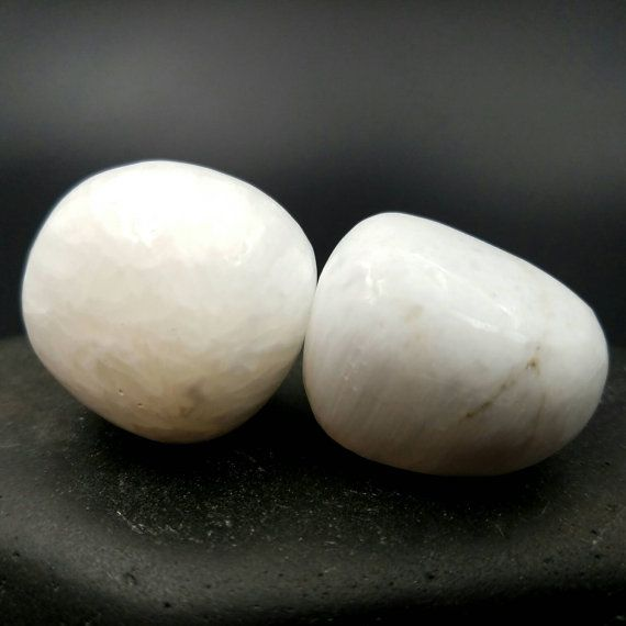 This listing is for 1 large tumbled Scolecite crystal. This chunky white crystal has beautiful chatoyancy and is a considered a high vibration Synergy 12 crystal used by energy workers, reiki practioners and crystal healers. Dimension at the widest point: 1.14 - 1.26 29-32mm 25-31g  Mohs Hardness: 5 - 5.5  Your crystal will come carefully wrapped and ready to love!  ♥ Like and Follow my Facebook and Instagram pages for updates, giveaways and discounts. ➠…