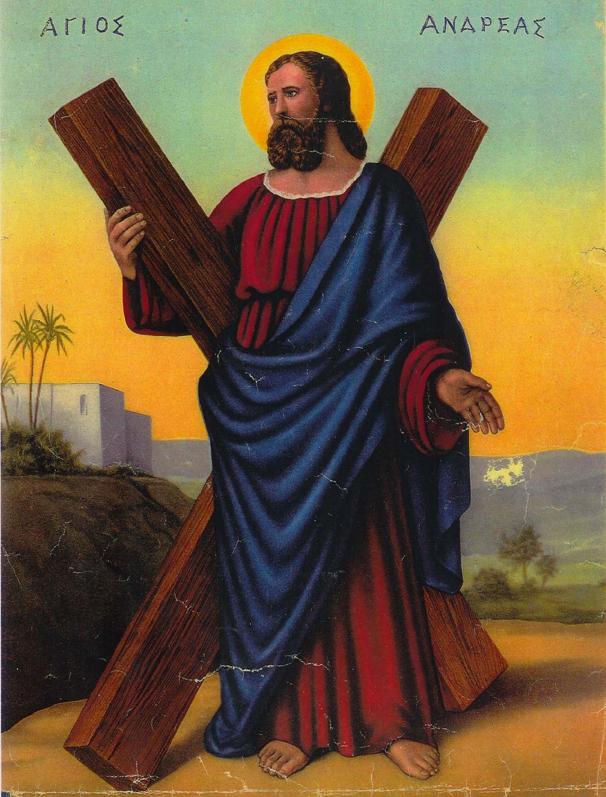 Apostle Andrew and his devotion to Christ