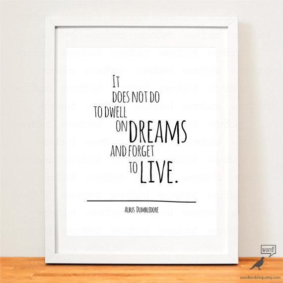 Harry Potter Quote Albus Dumbledore Words Of Wisdom Harry
