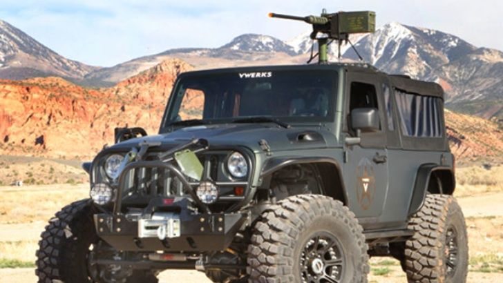 V8 Jeep Wrangler Recon Is Ready For Zombie Apocalypse