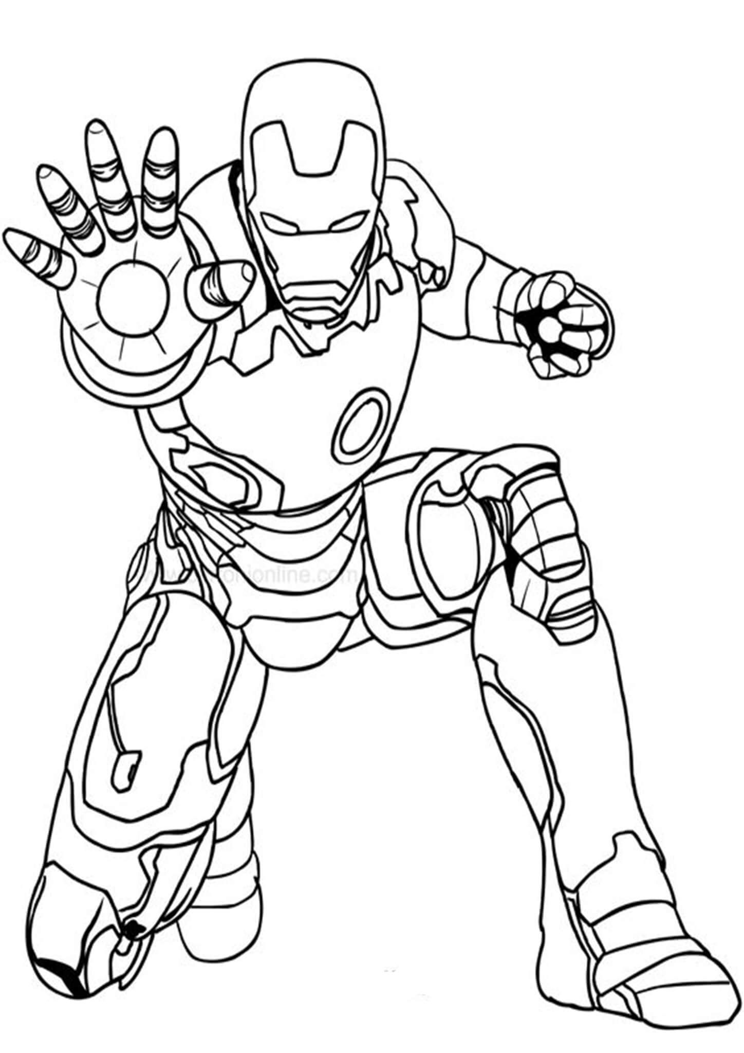 Free & Easy To Print Iron man Coloring Pages  Superhero coloring