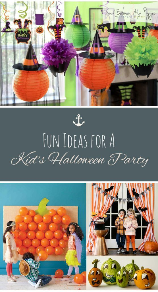 Fun Ideas for A Kid\u0027s Halloween Party ! Ciao ! HOLIDAY Ideas - halloween party decorations diy