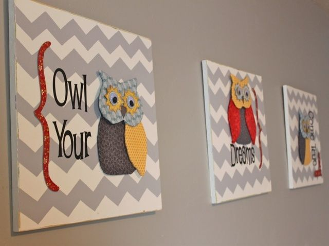Awesome How To Make Owl Dorable Wall Art