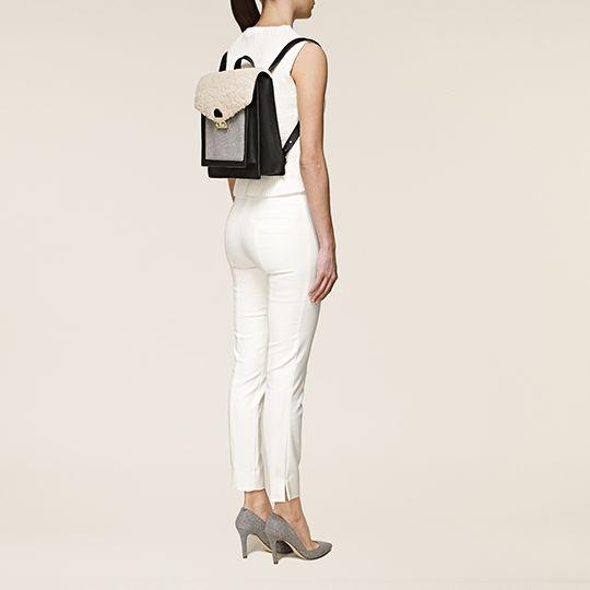 Pin By Iffah Fathin On Style: Loeffler Randall Lock Backpack