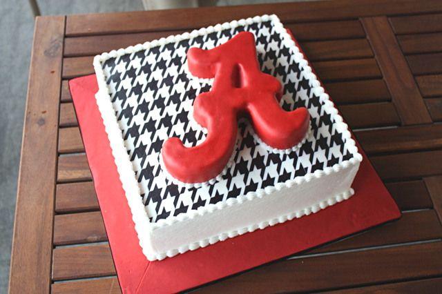 44 Alabama College Football Cakes Roll Tide Alabama Pinterest