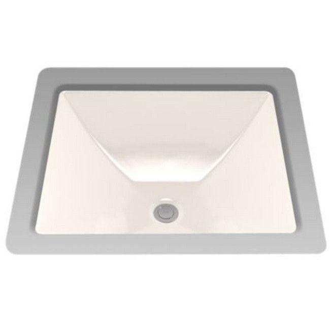 Toto Legato Beige Porcelain Single-basin Undermount Sink (Sedona ...