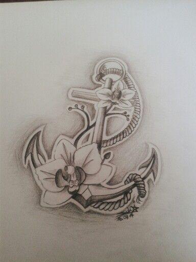 Orchideen Anker