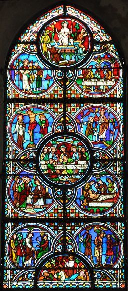 Chartres ~ Centre-Val de Loire ~ France ~ Notre Dame Cathedral ~ The Life of Christ Window
