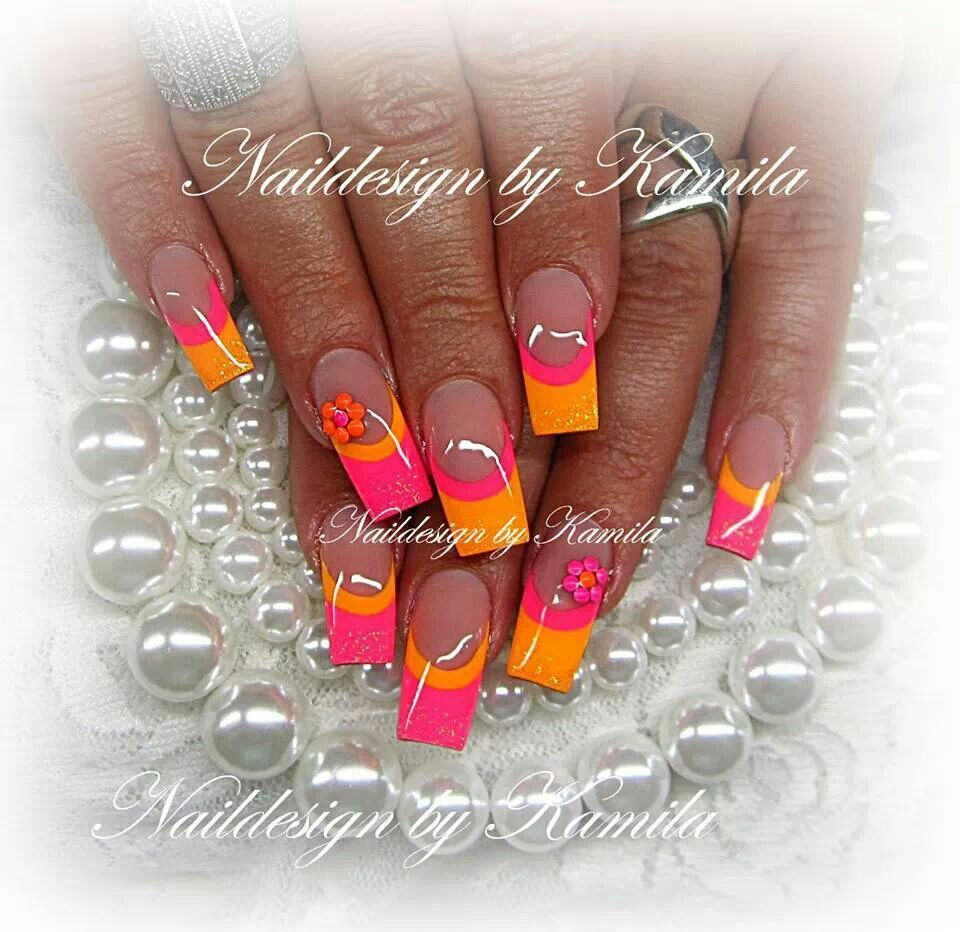 Summer brights | Nail Envy in 2019 | Nail designs, Nail ...