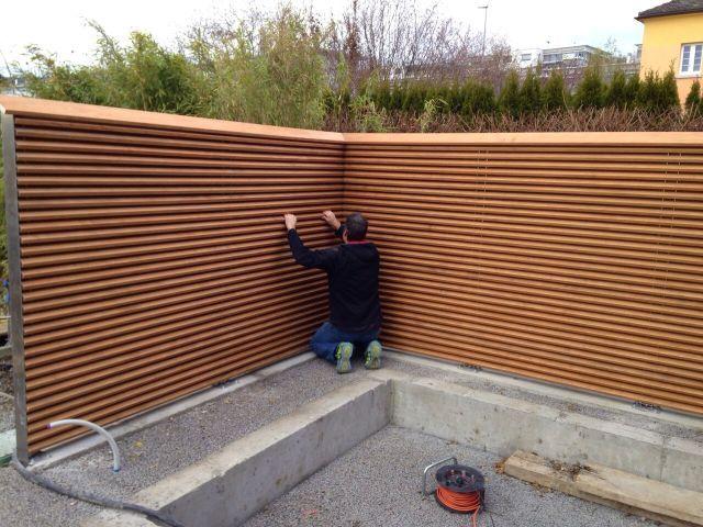 Referenzbilder - www.sichtschutz-schallschutz.ch #ummauertergarten
