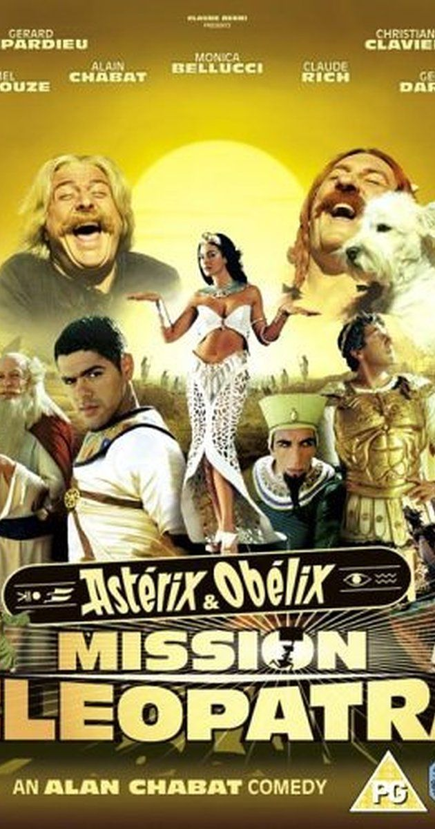 Asterix And Obelix Meet Cleopatra 2002 Cleopatra Musical Movies Best Kid Movies