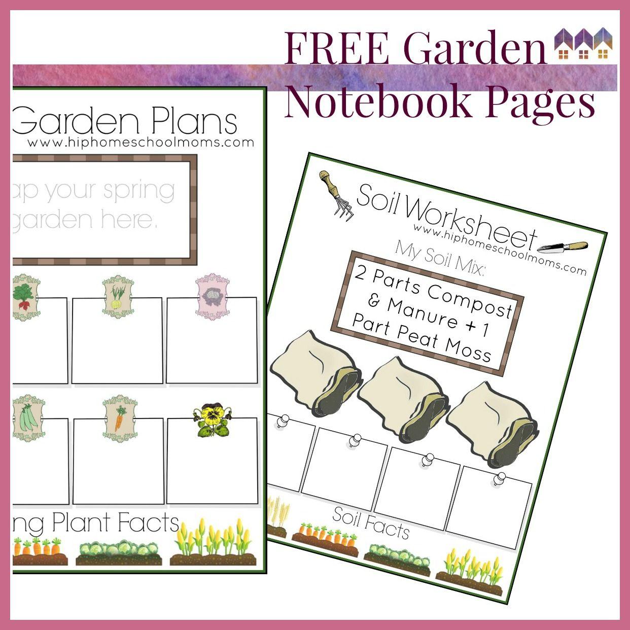 Free Garden Notebook Pages Garden Notebook Free Garden Planner Garden Planner