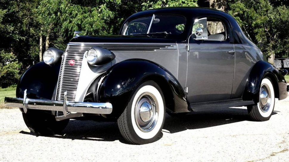 Hemmings Find of the Day – 1937 Studebaker Dictator coupe ...