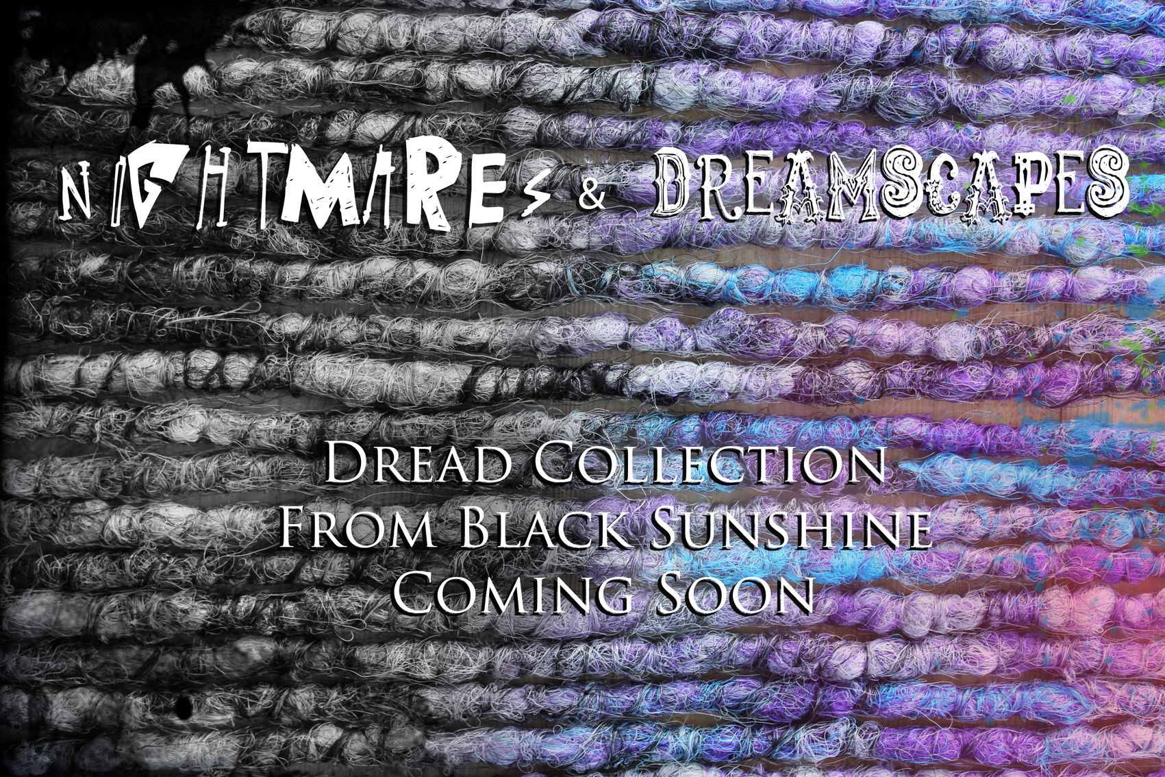 New dread collection coming from Black Sunshine #syntheticdreads