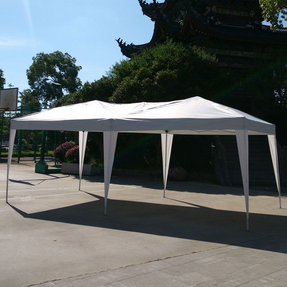 Patio Ez Pop Up Wedding Party Tent Gazebo Folding Canopy