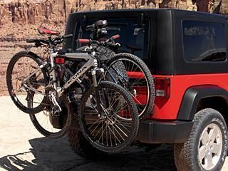 145 00 Bike Rack Jeep Wrangler Tires Spare Tire Bike Rack