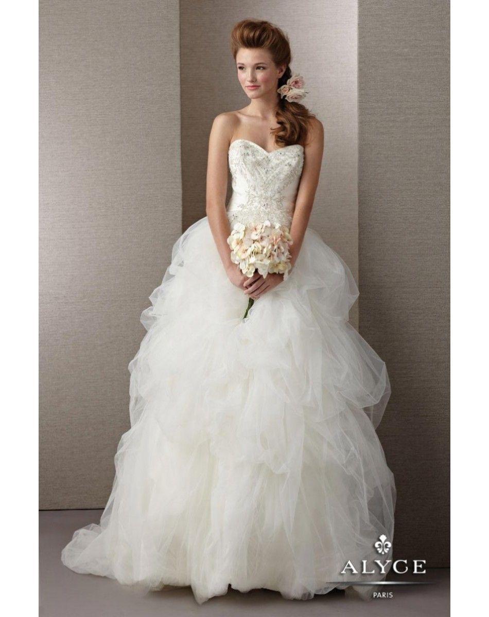 Alyce Wedding Dresses | Home / Alyce Paris Wedding Dress 7857
