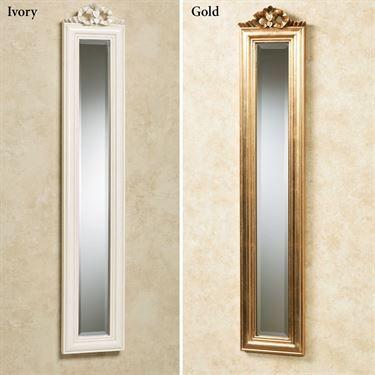 Bountiful Bow Narrow Wall Mirror Panel Mirror Panels Mirror